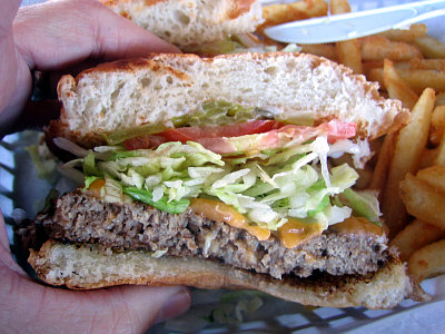 Moonie's Burger House Burger