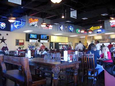 Moonie's Burger House interior