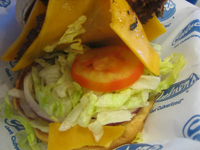 Culver's Austin Cheeseburger