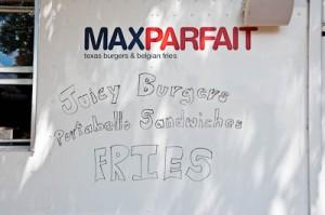 Max Parfait Hamburger Trailer