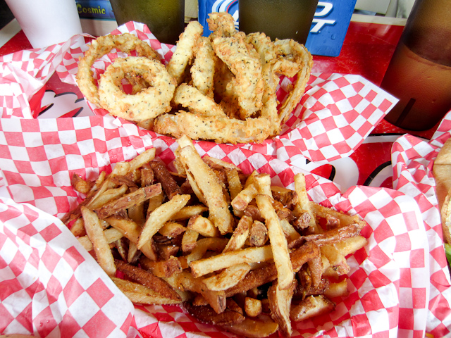 Alamo Springs Cafe Fries and Onion Rings